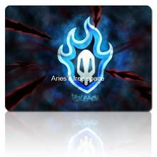 BLEACH flame skull personality animation mousepad cheap gaming mouse pad gamer large notbook computer mouse mat gear mouse pad(China)