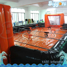 Outdoor Sport Game Inflatable Foosball Court Human Table Football Field With Floor For Sale(China)