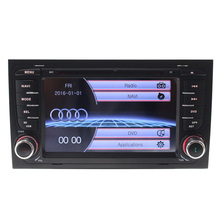 Advanced factory 2 din Car radio Multimedia Video Player for Audi A4 2003-2010 RDS DVD GPS FM Bluetooth can bus SWC IPOD WIFI BT