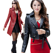 New 2017 Women Leather Suede A Variety Of ways To Wear Faux Fur Coat Spring Autumn Winter Fashion Harajuku Vintage Clothing