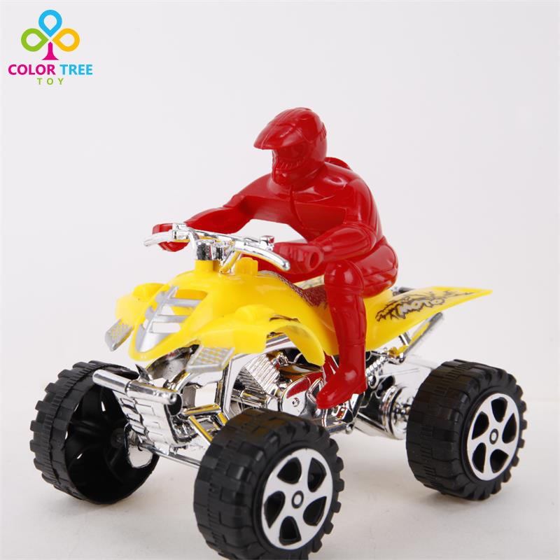 1pc Kids Toy Motorcycle Model Red Yellow Mini Toy Motorcycle Educational Toys Birthday Christmas Gifts For Children(China)
