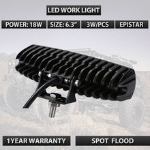 6INCH 18W MINI LED LIGHT BAR 12V LED WORK LIGHT SPOT FLOOD FOR OFFROAD BOAT TRUCK ATV 4x4 LED DRIVING LIGHTS external lamps