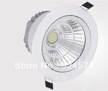 Wholesale High Quality 15W/20W COB chip downlight Recessed LED Ceiling light Spot Light Lamp Free shipping 20pcs/lot