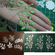 Flowers Leaf Metal Cutting Dies Stencils For Sizzix Big Shot Embossing Card Scrapbooking Album Decoration Template Folder Suit