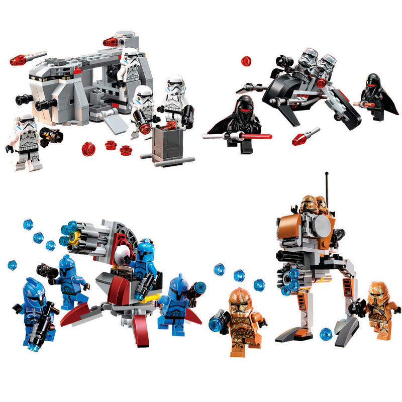 Toys Blocks Star Space Wars 6 Set Micro fighters Bricks Games Pieces Gifts