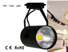 Cloth shop track light, department store light fittings, exhibition hall show room 10w track light, 10w led spot light