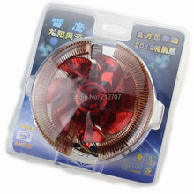 1PCS PC CPU Heatsink Cooling Fan Cooler For Intel LGA775 AMD AM2 AM3 92x25mm
