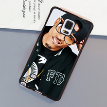 Fashion August Alsina Soft Rubber Skin Cell Phone Case OEM For Samsung S3 S4 S5 S6 S7 edge plus Note 3 Note 4 Note 5 Cover