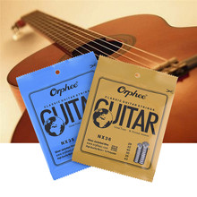 Orphee NX Conventional Classical Guitar Strings Series (Color Plastic Bag Seal) Use High-quality Nylon Wire Feel Moderate(6 PCS)