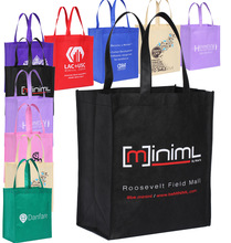 Wholesale Free Custom Non Woven Shopping Bag Polypropylene Promotional Bags Printing