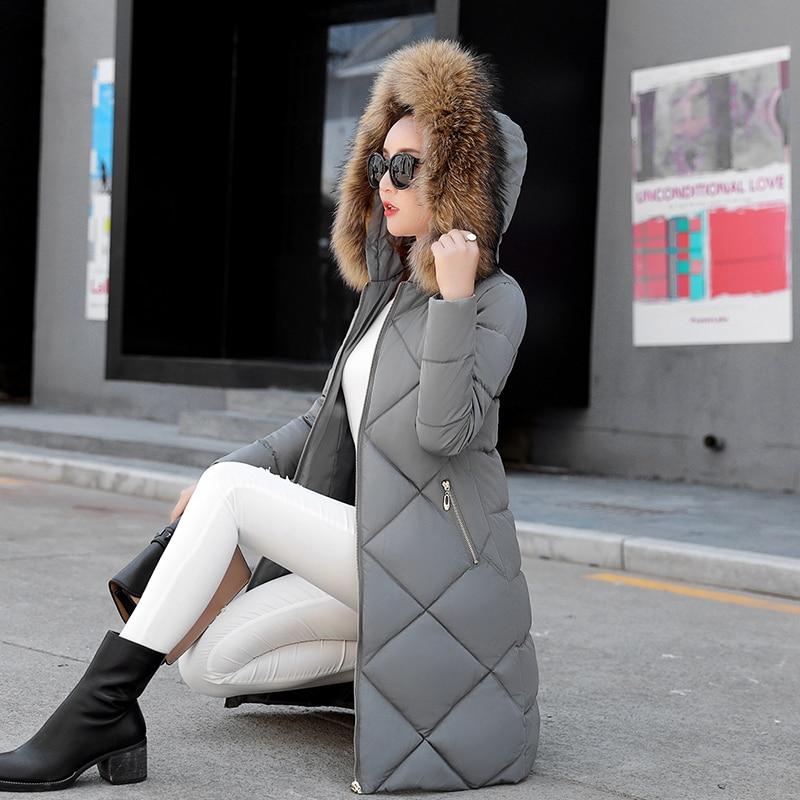 New Autumn Winter Jacket Coat Women Parka Woman Clothes Solid Long Jacket Slim Womens Winter Jackets And Coats 0919-60Îäåæäà è àêñåññóàðû<br><br>