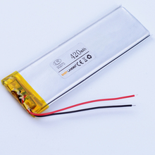 302070 3.7V 420mAh Rechargeable li Polymer Li-ion Battery For mp3 mp4 DVR GPS PDA china clone 4G 4S andorid phone 032070(China)