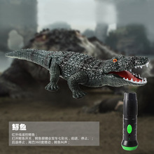 Le Yu Genuine Creative Tricky Remote Control Cars Electronic Pet Alligator Animal Model of Educational Toys for Children(China)