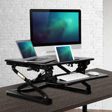 Laricare pro office table with height adjustable and Multifunction computer stand.pc tablet laptop TV desk,support many devices