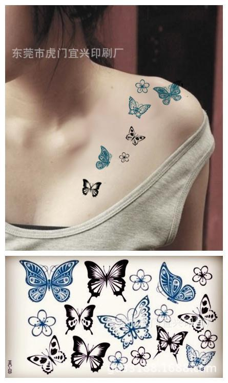 Wholesale Dandelion Aerial Bird Design Small Tattoo Sticker Body Art Waterproof Temporary Tattoos For Men Women RC2252 5