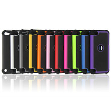 Football Grain Hybrid Silicone Plastic Shockproof Case For iPod Touch iTouch 5 6 Phone Back Cover Capa Funda