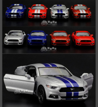 Kinsmart 1:38 5'' FORD 2007 Shelby GT 500 Cobra Alloy Model Toys Pull Back Car Free shipping