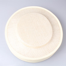 Free shipping 31CM ivory sinamay fascinator base big size hats nice DIY fascinator hair accessories cocktail 6pieces/lot MYQH26I(China)