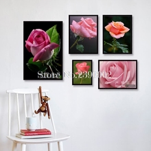 Full Drill Embroidery Flowers Diamond Mosaic Rose Picture Of Rhinestones Diy 5D Diamond Painting Cross Stitch Home Decor Gift