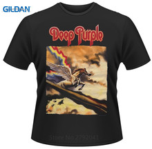 2017 Latest Gildan Funny Men O-Neck Deep Purple Stormbringer Short-Sleeve T Shirt Crew Neck Short-Sleeve Tall T Shirt