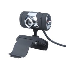 GTFS-USB 2.0 50.0M HD Webcam Camera Web Cam with Microphone MIC for Computer PC Laptop Black