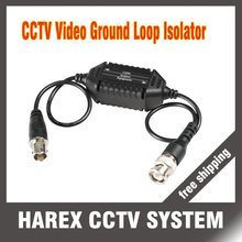 Coaxial Video Ground Loop Isolator Built in Video BALUN BNC Video Surveillance cctv system security accessories