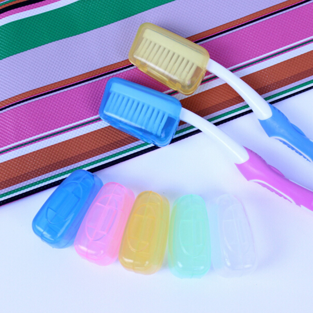 1pcs Portable Travel Toothbrush Head Cover Case Protective Caps Health Germproof Brush Case Protect Hike Brush Cleaner