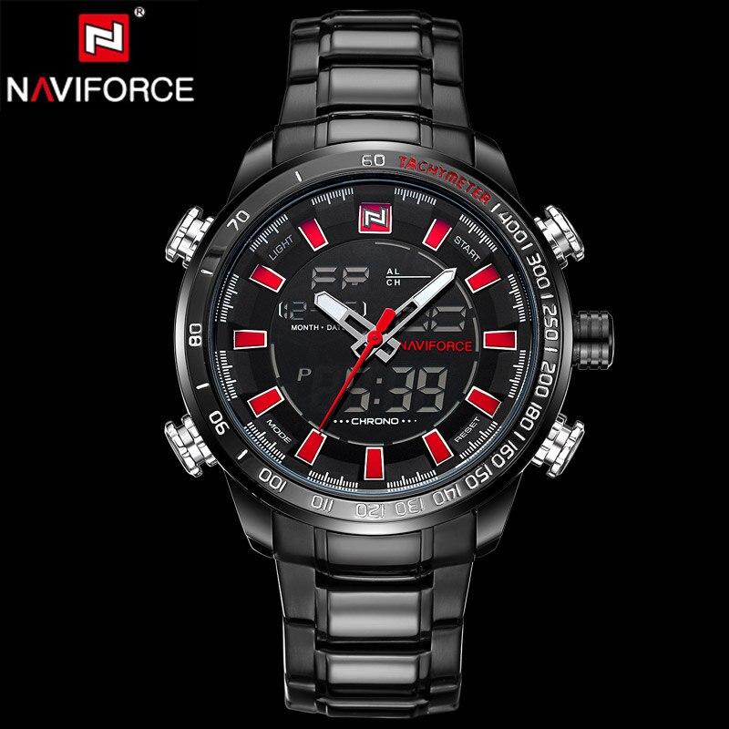 Luxury Brand Men Sports Watches Dual Display Analog Digital LED Electronic Quartz Wristwatches Waterproof Military Watch relojes<br><br>Aliexpress