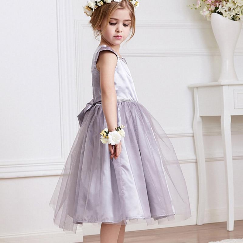 Fashion Style Girls Clothes Lace Dress Solid Short-sleeve Girls Summer Dress Children Clothing Mesh Princess Dress<br><br>Aliexpress