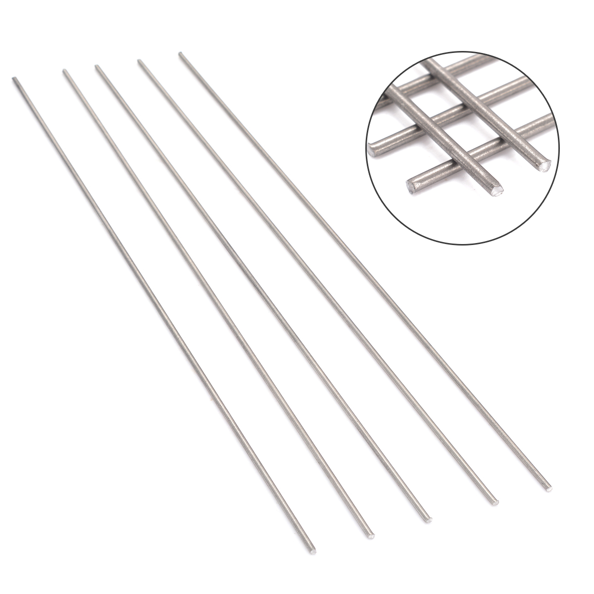 Diameter 3mm to 100mm 1 pc 250MM Titanium Ti Grade 5 Gr.5 GR5 Rod Round Bar