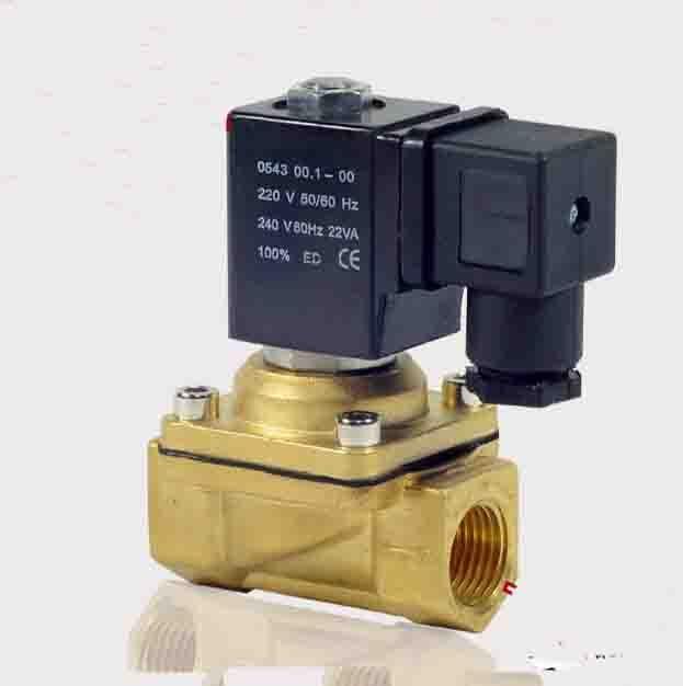 3/8  PU220 series water brass solenoid valve<br>