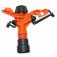 "Garden Pressure Sprayer Adjustable Rotating Water Nozzle 1 ""internal thread-3/4 ""male thread plastic water sprayer eductor"