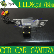"Free shipping CCD 1/3"" Car Rear view Parking Back Up Reversing Camera For Ford Focus Sedan (2) (3)/08/10 Focus Night vision(China)"