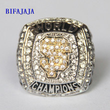 BIFAJAJA Drop Shipping 2012 San Francisco Giants World Series Championship Ring Size 11 Champion Statement Men Jewelry