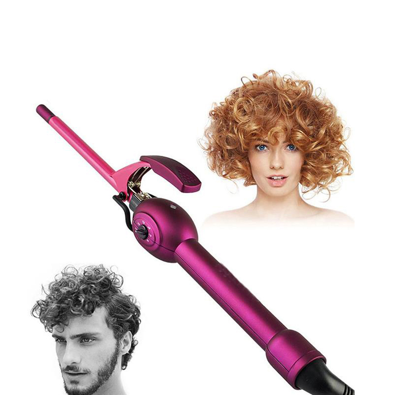 9mm hair Curler Professional Ceramic Curling Iron Magic Hair Curl Irons Wand Roller Care Beauty Styling Tools<br>