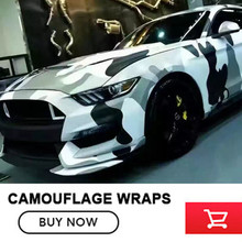 5/10/15/20/ 25/30m Matt Camo Vinyl Wrap Roll for Truck Jeep SUV Graphics black white pattern Camouflage Vinyl Film Full Body
