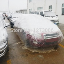 Universal 1PCS Indoor Outdoor Full Car Covers Sun UV Snow Dust Resistant Protection Waterproof Dustproof Contraction Car Covers(China)