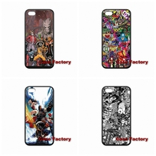 For iPhone SE iPod Touch 6 LG G2 G3 G4 L70 L90 Nexus 4 5 Sony Xperia C M2 Z Z1 Z2 Z3 Z4 Z5 compact Marvel Sticker Bomb