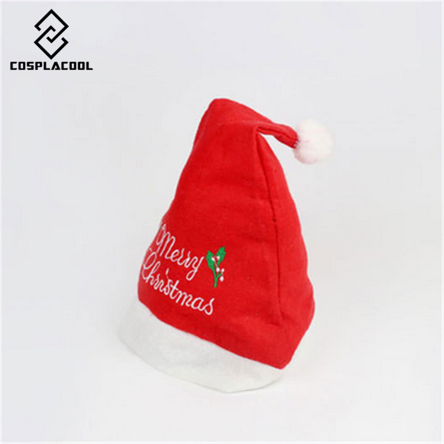 [COSPLACOOL]  NEW men and women hats Christmas hats Adult letters embroidered Christmas hat Christmas giftÎäåæäà è àêñåññóàðû<br><br><br>Aliexpress