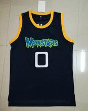 SexeMara Alien 0 Monstars Basketball Jersey Dark Blue For Free Shipping S M L XL XXL XXXL