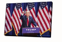Buy Unframed Free HD Print Canvas Funny Donald Trump USA President Make America Great Wall pictures Art painting for $7.90 in AliExpress store