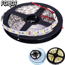 FGHGF 5M 16ft 5050 SMD Non-Waterproof 300 LEDs Flexible Light  Strip LED Sticky Strip 12V DC White /Warm White