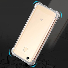Xiaomi Redmi 4X Case TPU Clear Cover Silicon Rubber Drop Protection Cushion Corner Shock Absorbance Case For Xiaomi Redmi 4X 4 X