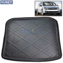 Fit For 2009-2014 Volkswagen Golf 6 MK6 Golf6 Boot Mat Rear Trunk Liner Cargo Tray Floor Carpet Protector 2010 2011 2012 2013