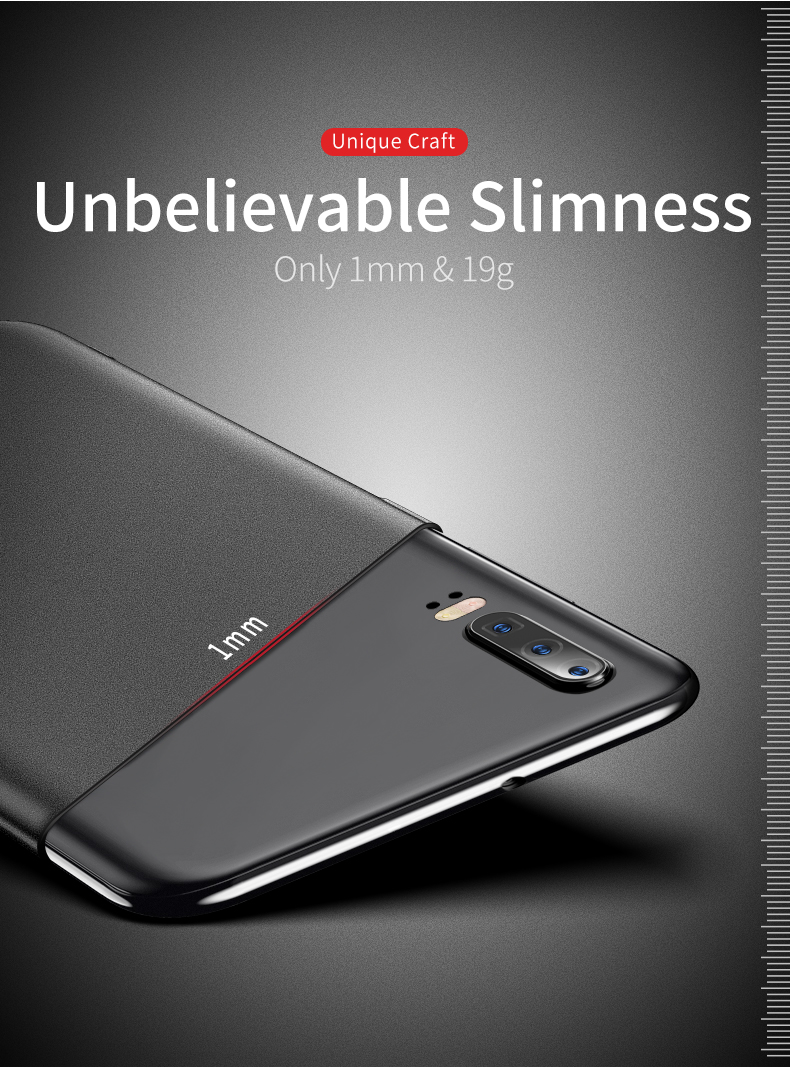 Huawei P30 Case for Huawei P30 Pro Case Hard P30 Lite Cover Slim Matte Back Cover Fingerprint Proof Fundas     (5)