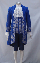 2017 Beauty and Beast Prince Cosplay Costume Adult Costumes for Halloween/Carnival Cosplay Costumes for Women/Men Custom Made