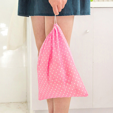 Thick Non-Woven Travel Shoe Storage Bag Cloth Suit Organizer Bra Garment Packing Covers(China)