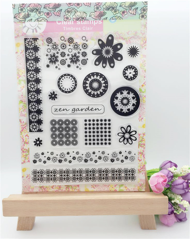 New arrival stencil diy scrapbooking clear stampkinds of frame circle for wedding paper card christmas gift YFS049<br><br>Aliexpress