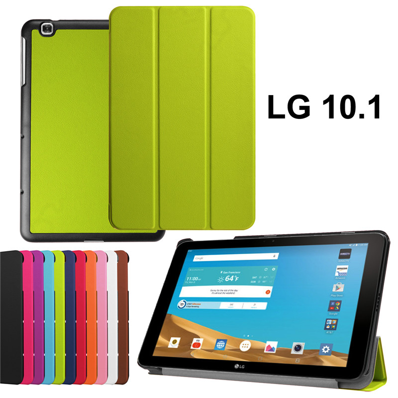 2015 New high quality  pu leather  cover stand tablet case for LG G Pad 2 10.1 V940 Tablet case+stylus+free shiping<br><br>Aliexpress