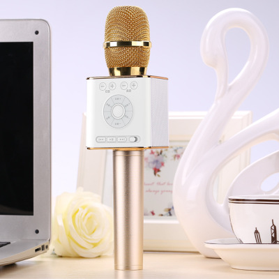 Original Brand Tosing Q9 04 wireless Karaoke Microphone Bluetooth Speaker 2-in-1 Handheld Sing & Recording Portable KTV Player-14